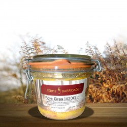 Bocal de Foies Gras 420gr