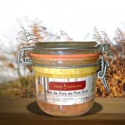 Bocal de Pâté de porc au foie gras (200gr)
