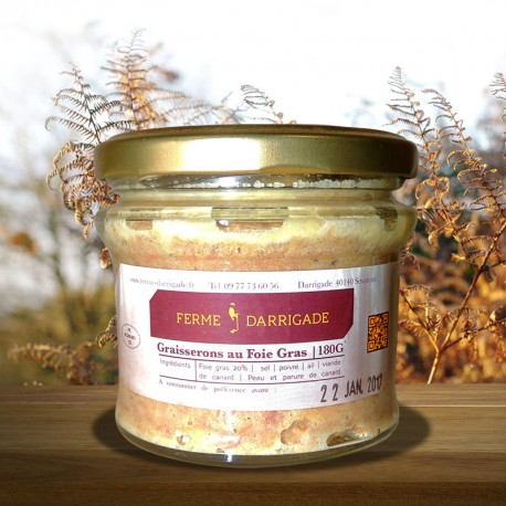 Graisserons de canard au foie gras