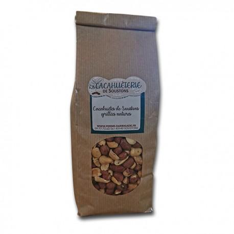 Cacahuètes grillées nature sans sel