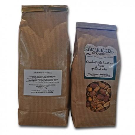 Mix cacahuètes maïs grillés salés